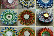 candle / mécses / quilling