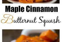 maple cinnamon butter squash