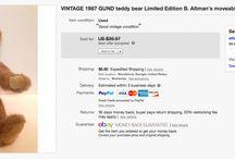 Plush I've Sold on eBay / Make money selling plush / stuffed animals on eBay / by Suzanne A. Wells