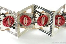 Sizzix Accordian Cards