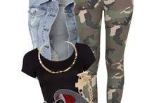hip hop clothes :3