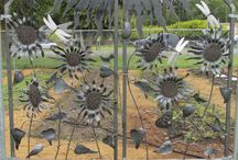 Discovery Metal Creations / Hand Crafted Sculptures, Birds, Pictures, Railings, Fire Pits,  Garden Art from Stainless Steel, Sheet Metal