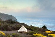 May 2014-Glamping / I've got the bug! Camping in pure comfort, yes Please!