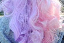 Hår farver