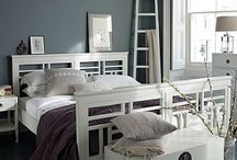 Gentle Whites / Tranquil white furniture and living spaces bring peace to any room