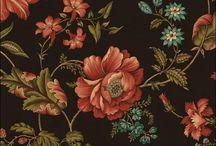 Antique Pattern of Fabrics