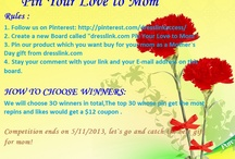 dresslink.com Pin Your Love To Mom