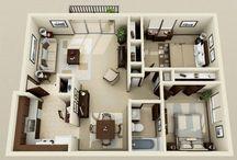 Lakás és ház alaprajz