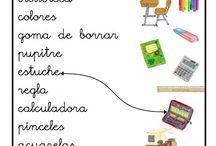Vocabulario escuela