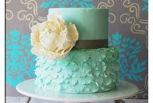 """Sweetness / Wedding Cakes, Cupcakes and other beautiful treats featuring simple design and romantic beauty NEVER crossing the boundary of """"over the top"""". cakes cakes cakes cake cake cake / by Wiggy Flowers Outside the Vase"""