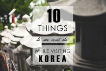 South Korea trip / Trip of a lifetime ideas