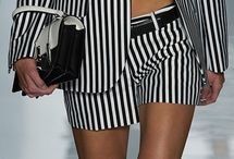 Black and White / Luxurious black and white fabric