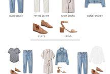 Capsule wardrobe - spring/summer