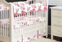 Lilas nursery decor