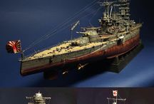 Ships scale models