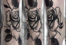 Redcheese76 tattoo / New traditional black work tattoo