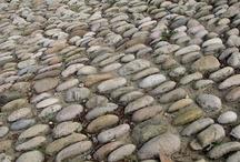 Sur la plage, les pavés... / by Cath Galland