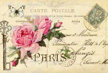 Vintage Carte postale