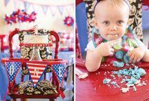 fourth of July birthday. / by Jessica Lindsley Klobetanz