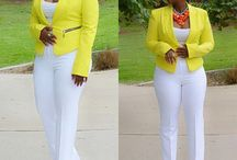 sexy yellow and white