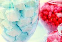 Aqua & Red...