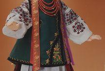 Куклы в национальных костюмах/Dolls in folk costumes