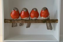 Vtáky keramika