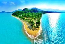 Thailand / Here you will discover miles of palm fringed sandy beaches, dramatic rocky headlands, crystal waters and coral reefs in a fine tropical climate.