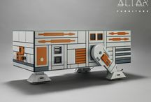 The Droid EVII Coffee Table
