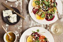 Saladas & sopas
