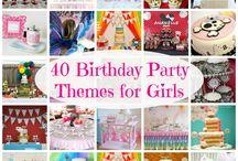BirthdayPartyIdeas / by Kelly White