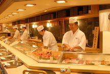 ( 6 )    .+*:゚+。.☆\( ・ω・)/  寿司屋  ☆.。.:*・