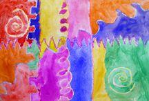 Kindergarten Art / by Jan StClair