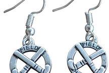 Field Hockey Earrings