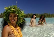Tahiti Bora Bora French Polynesia / Most of popular places in Tahiti Huaine Morea Bora Bora