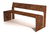 corten steel furniture