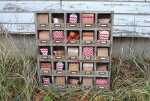 storage / by Brenda Sorrells