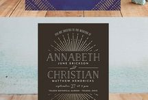 wedding invitations / wedding invitation inspiration from the stylists at anna bé!