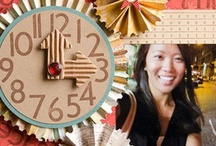 Motif-Time Will Tell / scrapbook and craft inspiration featuring clocks and time