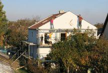 ház festés