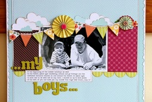 scrapbook layouts 1 photo / by Lavonna Poudrier
