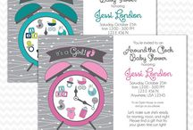Baby Shower Invites / Digital Baby Shower Invitations by BTA Designs - Visit my Etsy shop for more designs: https://www.etsy.com/shop/BTADesigns / by BTADesigns