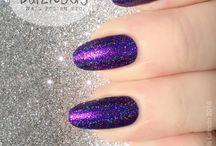 Purple & Lilac nails