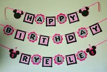 Birthday party ideas / by Megan Bridge