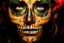 Dia de los Muertos / A touch of darkness, sweet remembrance, a bit goth and macabre, a celebration of life in death. / by Dana  @  Wind Dancer Studios