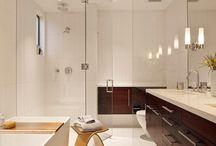 Bathroom-contemporary / by Ann Kenkel Interiors