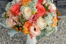 Wedding Colours | Coral and Yellow
