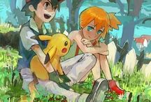 Pokemon / Mostly Pokeshipping, really.