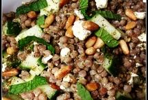 Veggies, Beans, Nuts, Grains / by Kathleen Mathena
