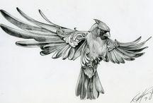 bird tatto